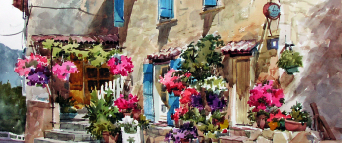 PAINT VILLAGES OF THE PROVENCE